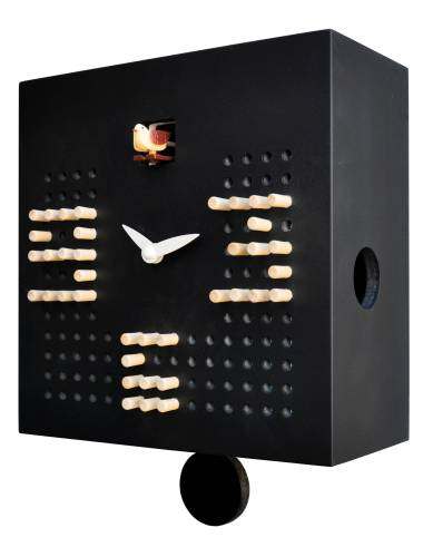 Cuckoo clock, black Cucu Solitario