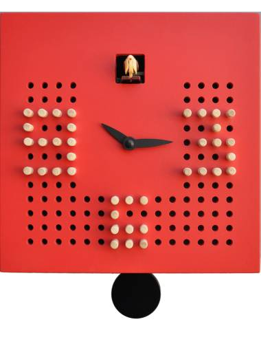 Cuckoo clock, red Cucu Solitario
