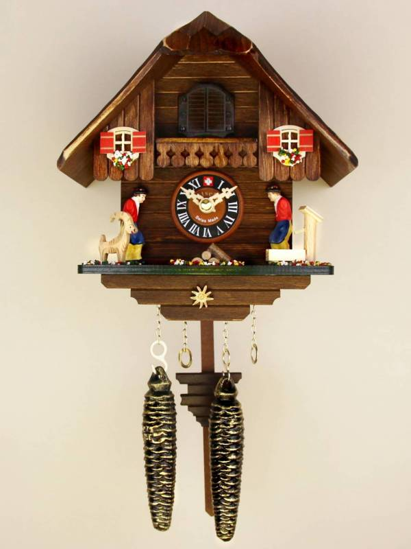 Quartz Emmental Chalet Cuckoo clock
