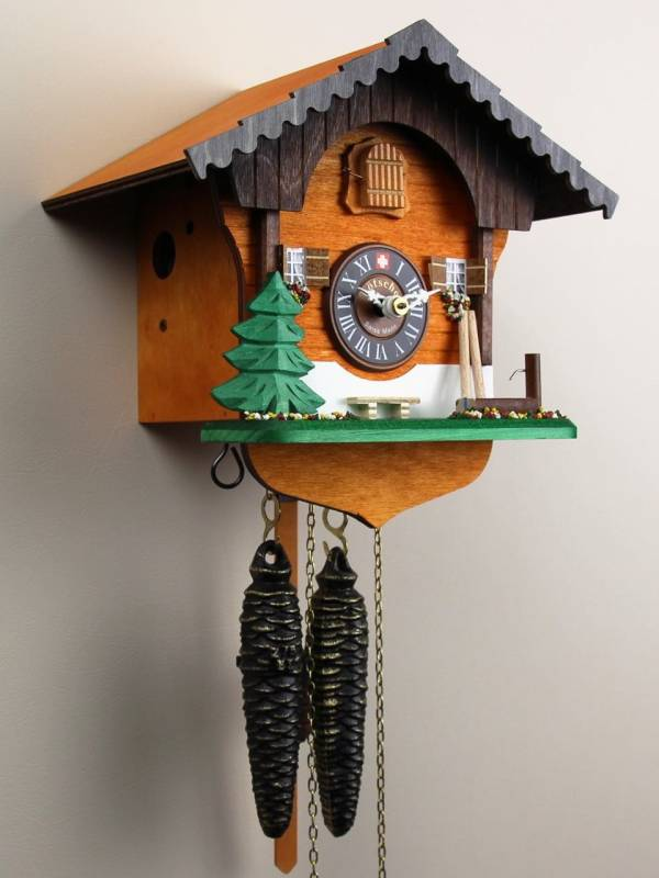 Hay Pole and Pine Cuckoo clock
