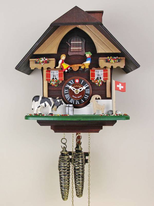 Seesaw Cow and Ibex, Cuckoo clock
