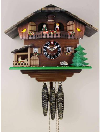 The Yellow Bird Chalet Cuckoo clock