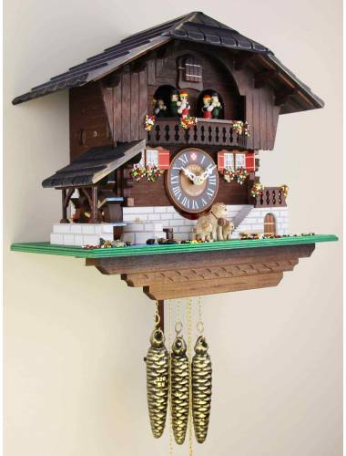 St Bernard and Puppies, Cuckoo clock