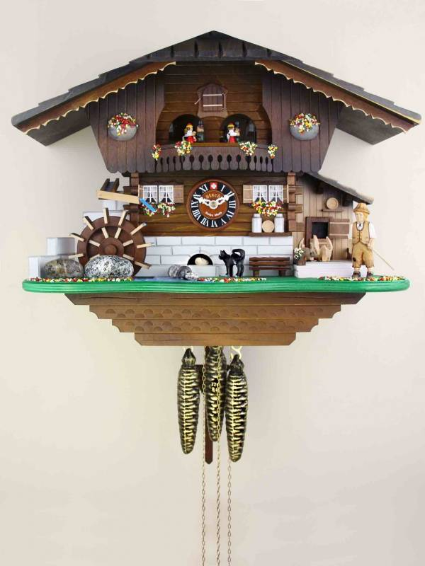 Cat and Mouse Cuckoo clock