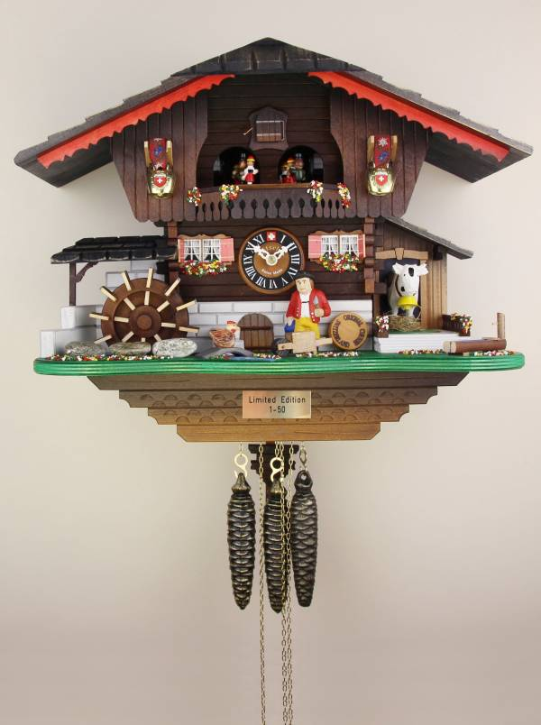 The Farmers Chalet - limited edition Cuckoo clock