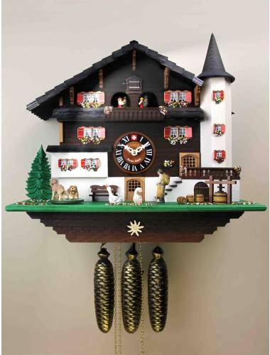 The Wine makers Cuckoo clock