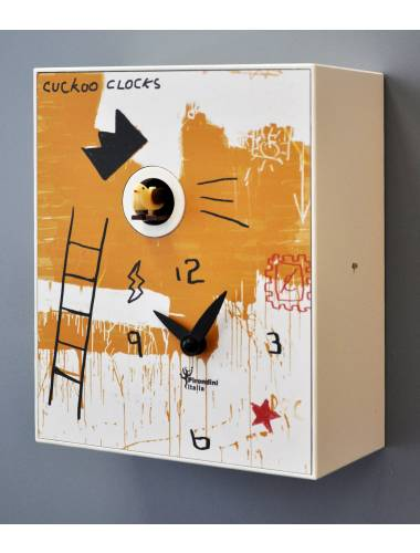 Cuckoo clock, Basquiat by Domencio Cimino