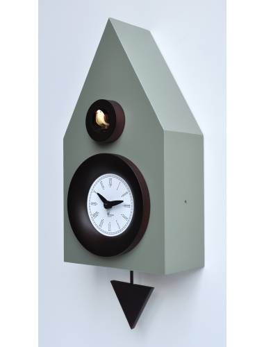 Cement Grey Cuckoo clock, Cucu Dark