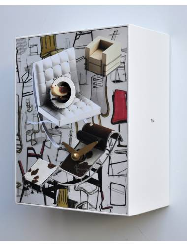 Cuckoo clock, Design Chairs