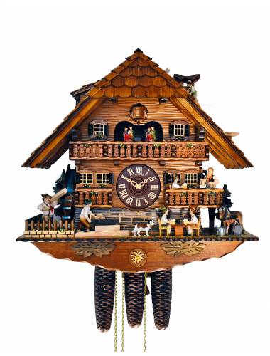 Large Cuckoo clock with Beer Drinkers