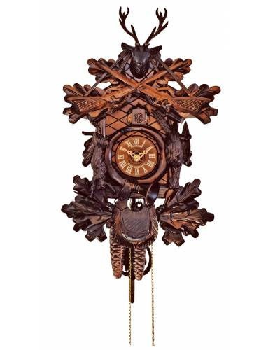 Traditional Hunter style Cuckoo clock