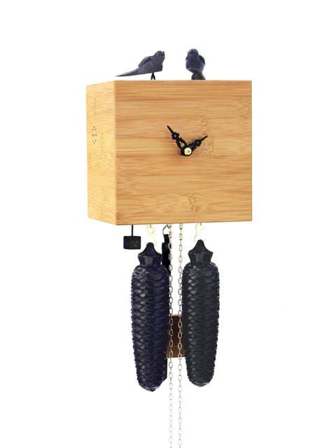 Free as a bird, natural Cuckoo clock
