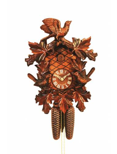 8 day Heavily carved Cuckoo clock
