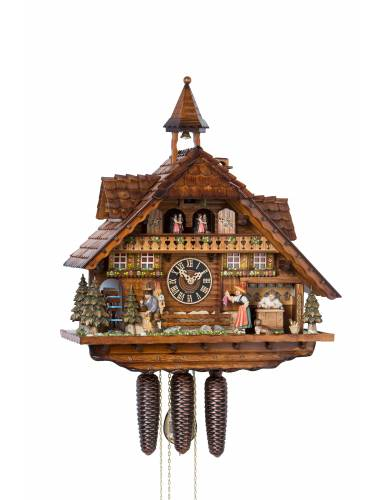 Cuckoo clock of the Clock makers House