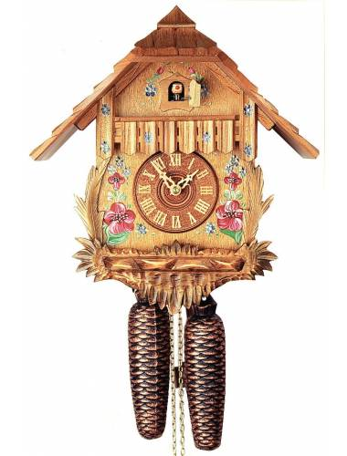 8 Day, carved Cuckoo clock