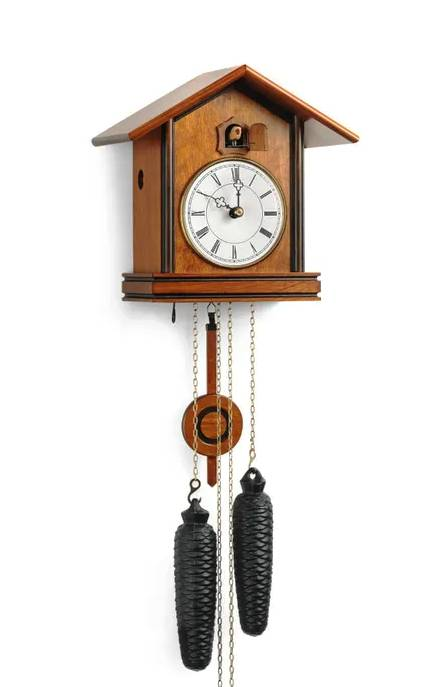 A Cuckoo clock combining old and new