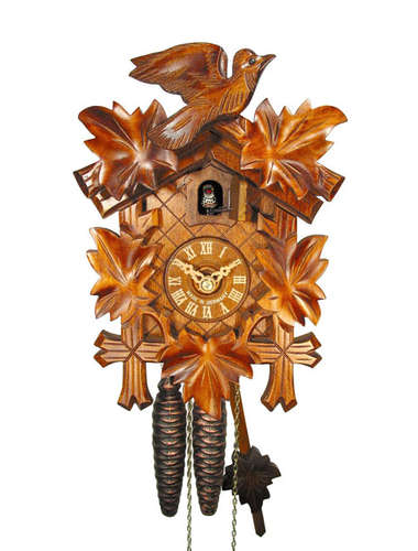 Small Cuckoo clock, hand carved