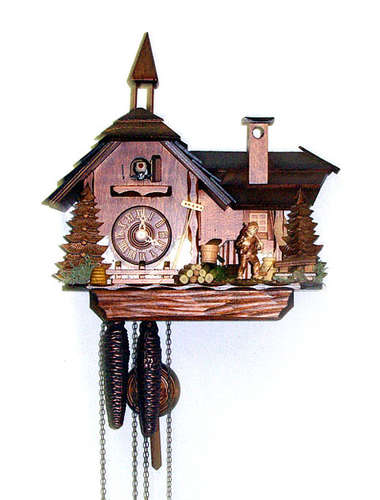 Farmhouse Cuckoo clock with annex