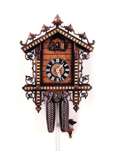 Train Station Cuckoo clock