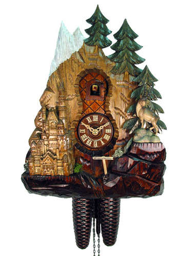 Cuckoo clock of Neuschwanstein Castle
