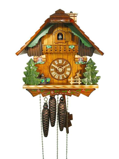 Rabbit Groundhog Chimney sweep, Cuckoo clock