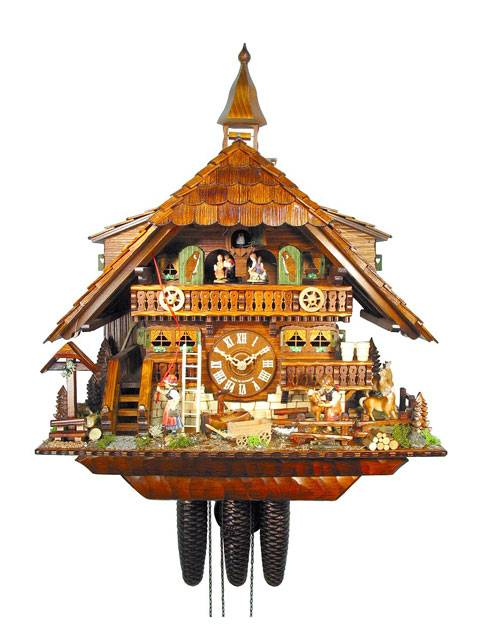 Gutach Valley pony ranch Cuckoo clock