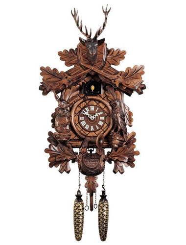 Hunter style, Quartz Cuckoo clock