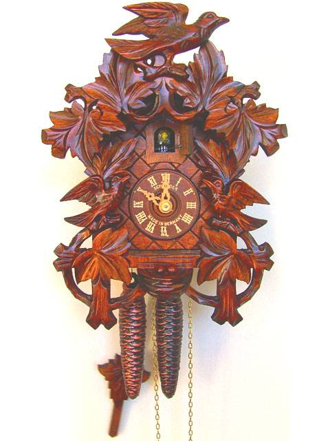 Honey coloured Cuckoo clock