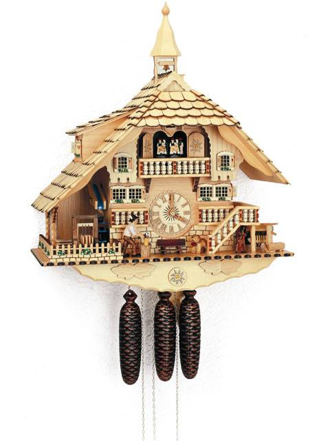 Large Cuckoo clock  in a natural colour