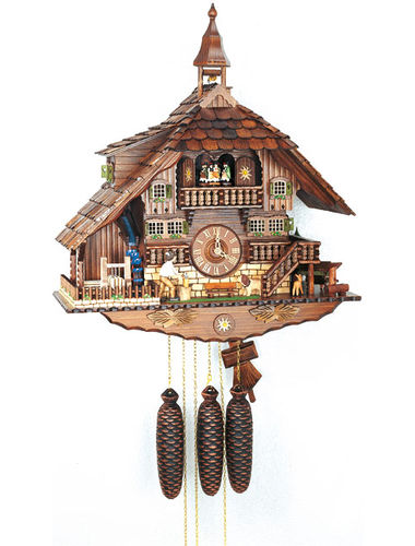 Superb chalet style Cuckoo clock