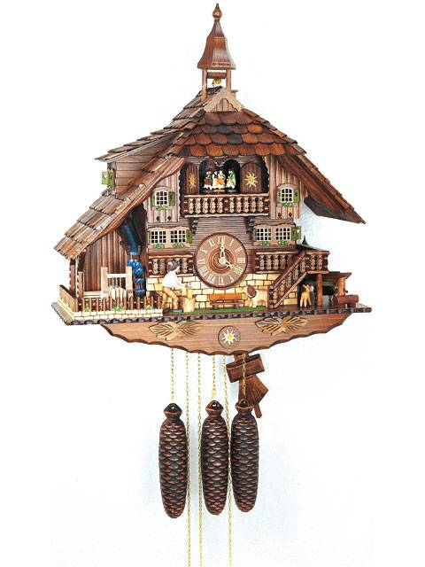 Large House with Woodchopper