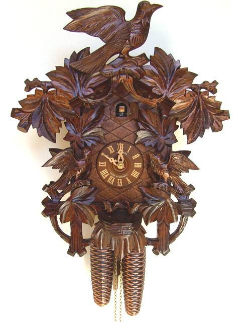 Hand carved Cuckoo clock
