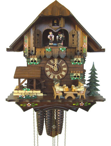 Cuckoo clock with Beer drinker