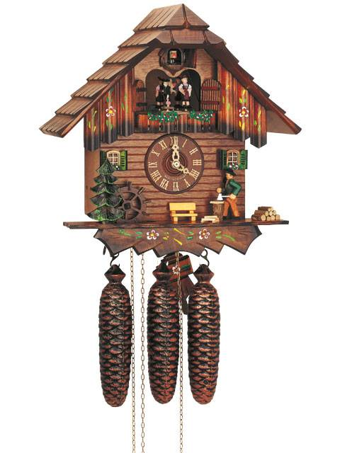 Chalet house with Woodchopper