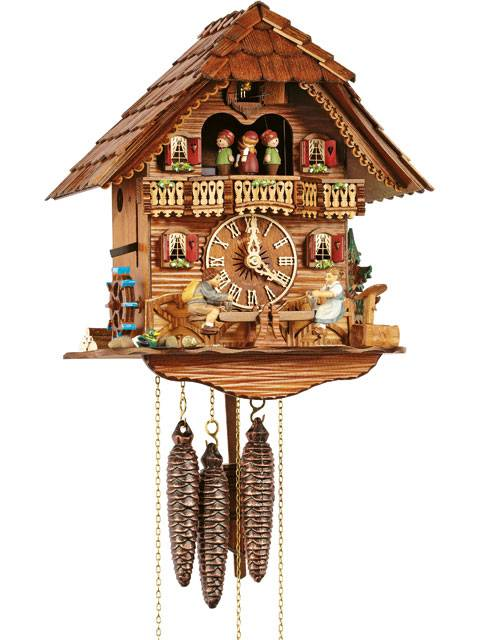Cuckoo clock with See-Saw