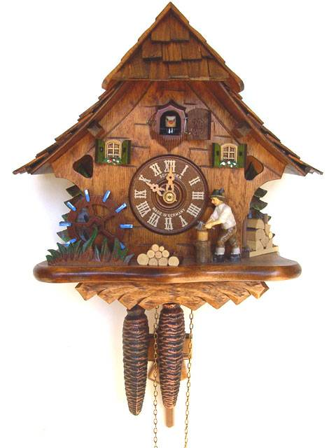 Small Chalet style Cuckoo clock