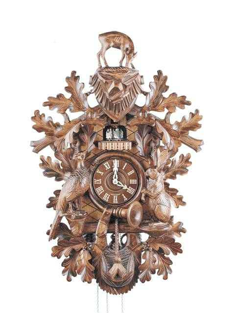 Exquisite Hunter style Cuckoo clock
