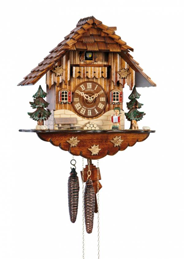Cuckoo clock with Musician