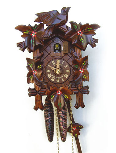 Traditional hand painted Cuckoo clock