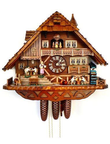 Cuckoo clock for the Bridge Players!