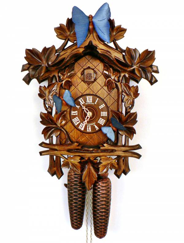 Cuckoo clock for the Lepidopterists!