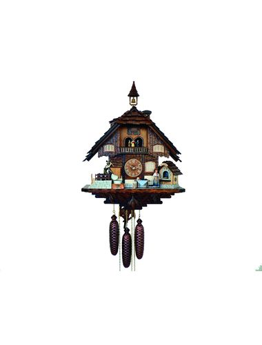 Cuckoo clock of a Bakery