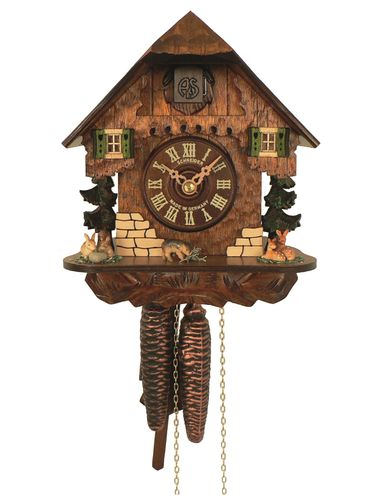 Small 'rustic' Chalet clock