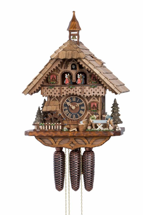 Black Forest Saw Mill Cuckoo clock