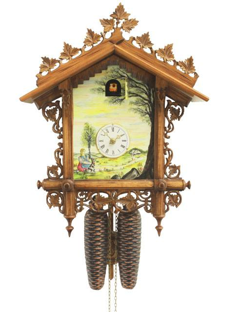 Shield and Station style Cuckoo clock