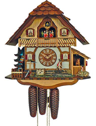 Cuckoo clock of the Farmer's house