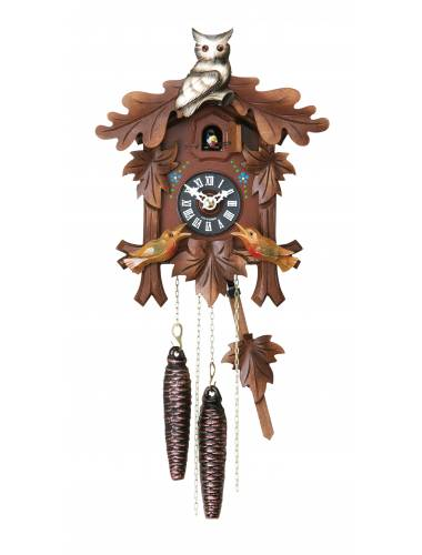 Cuckoo clock with Owl