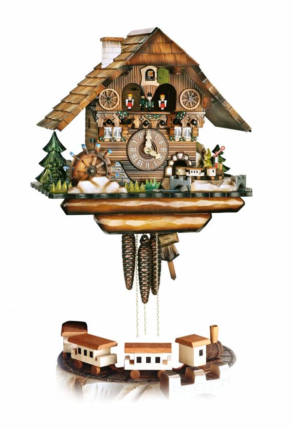 Black Forest train, Cuckoo clock