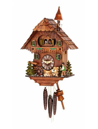 Double door musical Cuckoo clock with Bell ringer