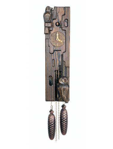 Log type Cuckoo clock